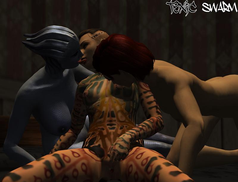 1227295 - Asari Commander_Shepard FemShep Jack Liara_T'Soni Mass_Effect Mass_Effect_3 ToxicSwarm XNALara.jpg
