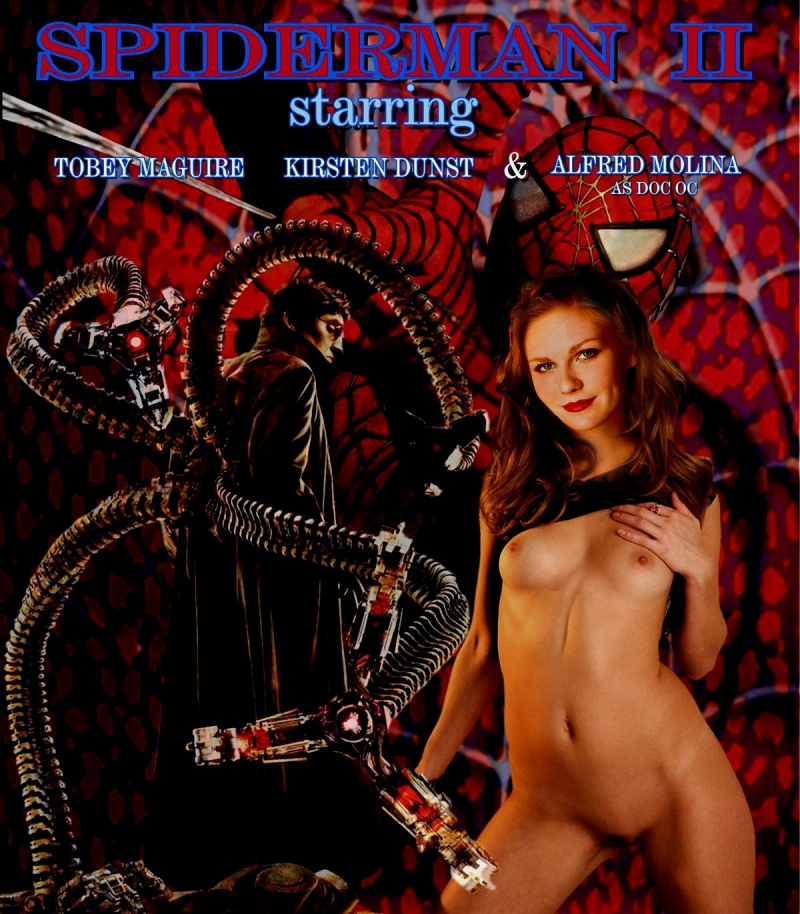 Check out Mary Jane Watson played by Kirsten Dunst... nude and horny Kirsten Dunst!