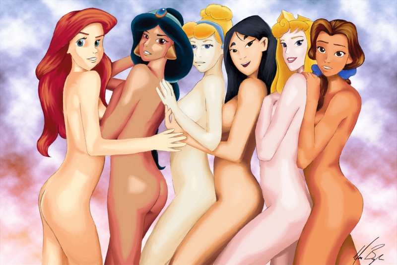 Disney Cartoon Porn Belle And Ariel