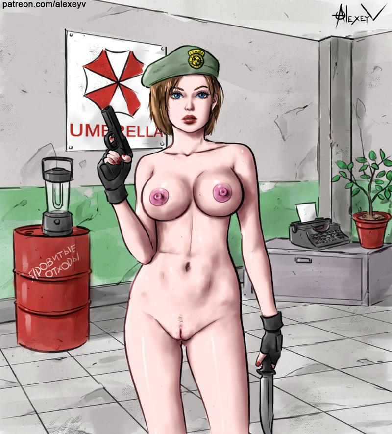 Resident Evil Porn Bloodspot
