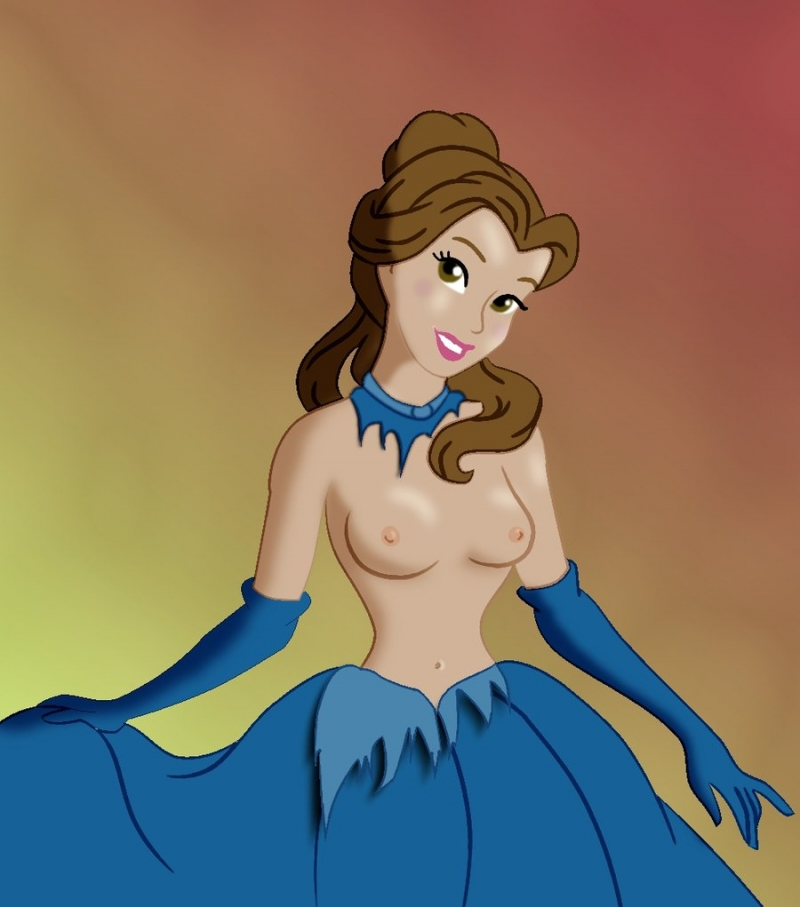 Belle Naked Disney