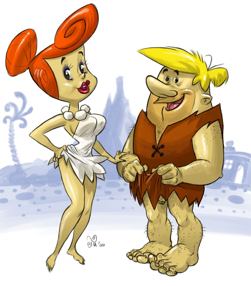 Flintstones Naked