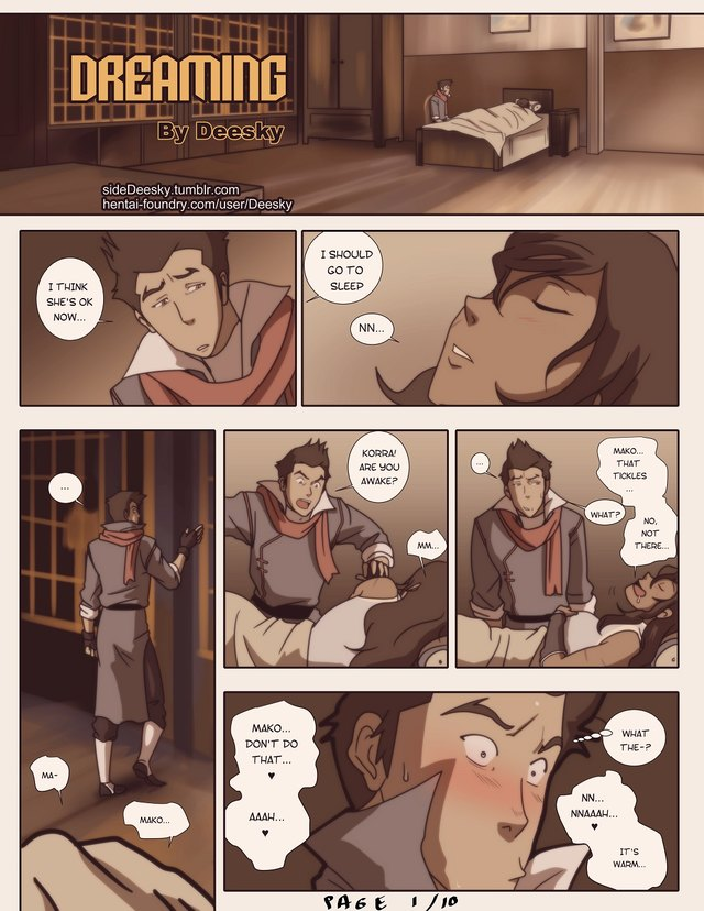 Dreaming: Welcome to Korra's raw fantasies