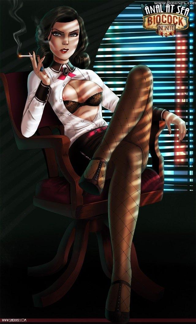 Bioshock Infinite Hentai Porn Doujinshi