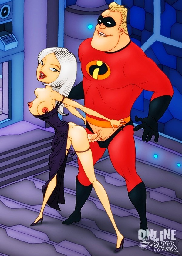 Incredibles Nude