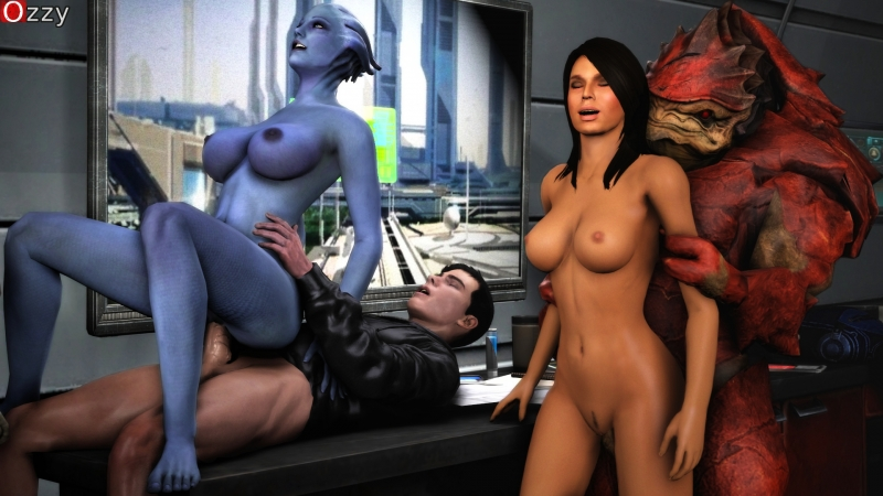 Liara T'soni Ashley Williams 1437381 - Asari Ashley_Williams Liara_T'Soni Mass_Effect Mass_Effect_3 Ozzy Wrex krogan.jpeg