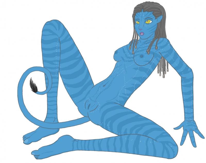 1337298 - James_Cameron's_Avatar Na'vi Neytiri Red_Wolfen.jpg