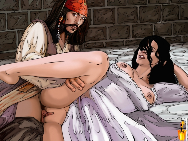 189015 - Elizabeth_Swann Famous_Comics Jack_Sparrow Keira_Knightley Pirates_of_the_Caribbean johnny_depp.jpg