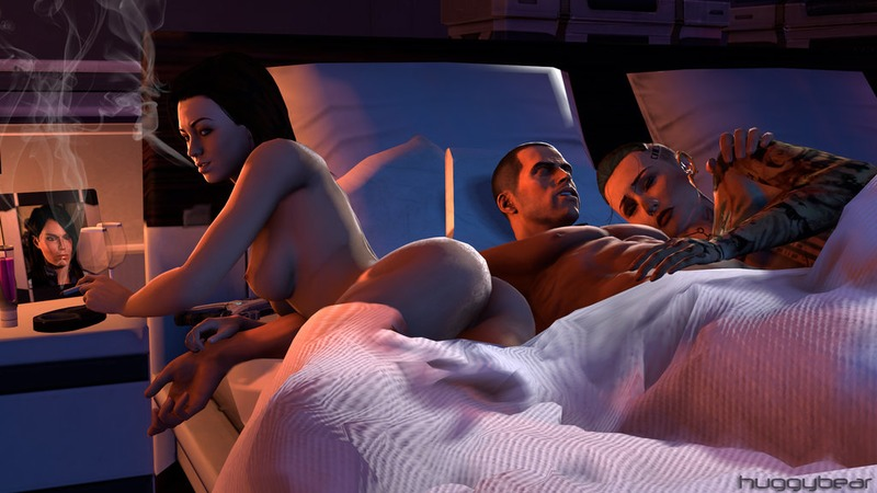 1102810 - Commander_Shepard Huggybear Jack Mass_Effect Mass_Effect_3 Miranda_Lawson.jpg