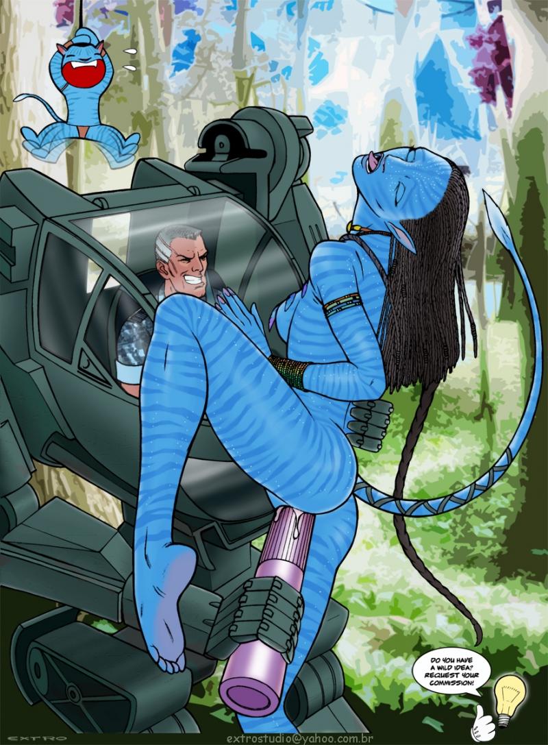 429975 - Colonel_Miles_quaritch Jake_Sully James_Cameron's_Avatar Na'vi Neytiri extro.jpg