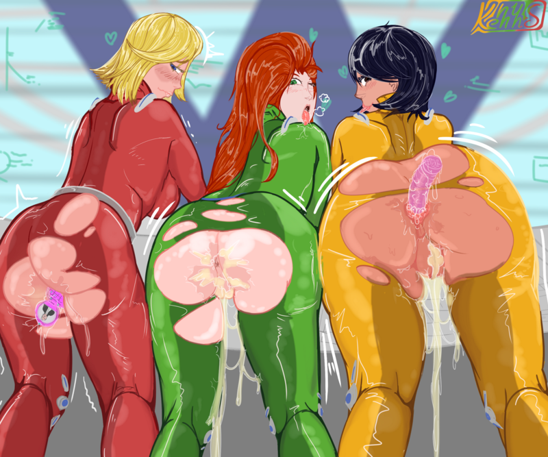 Nude totally spies comic