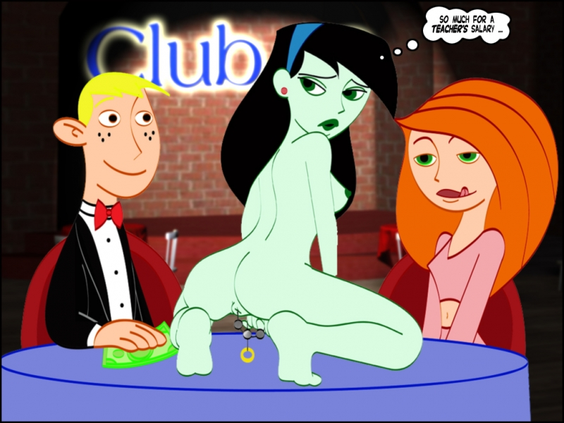 Shego tosses a personal flash for Ron and Kim on their anniversary