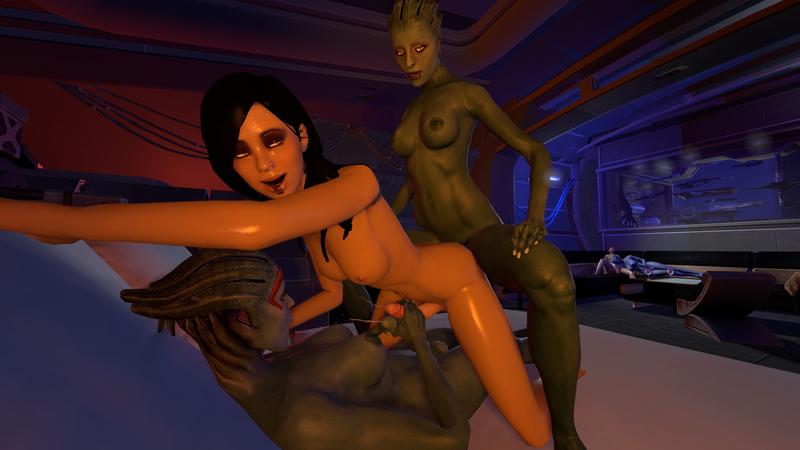 1206275 - Asari Commander_Shepard FemShep Kasumi_Goto Liara_T'Soni Mass_Effect Mass_Effect_2 Morinth Samara maggott-tron.jpeg