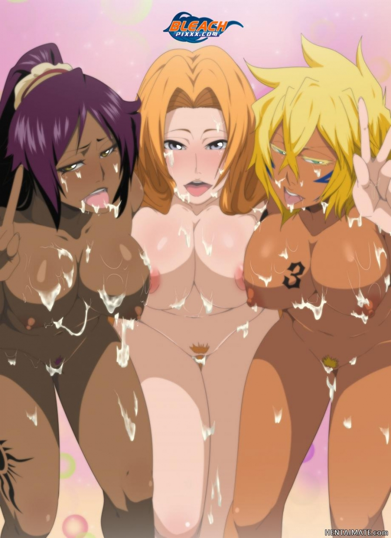 "These huge-boobed bi-otches from ""Bleach"" needs more super-fucking-super-steamy cum!"