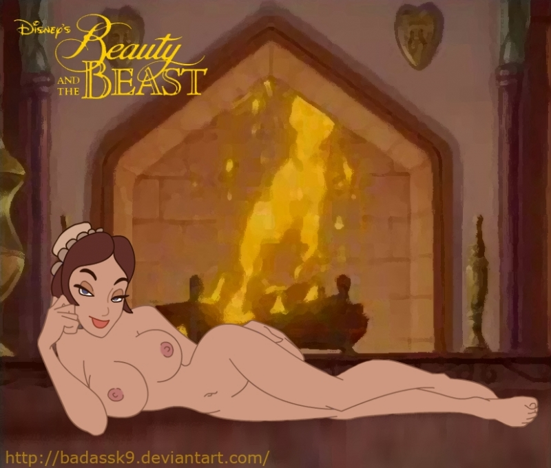 Busty doll Belle really want fuck with Beast