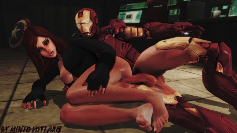 Iron Man Pepper Nude