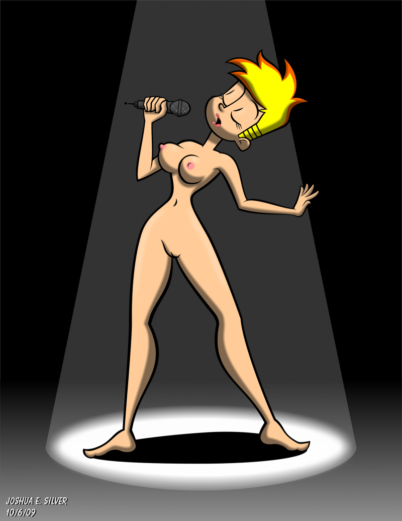 Naked Johnny Test Girls