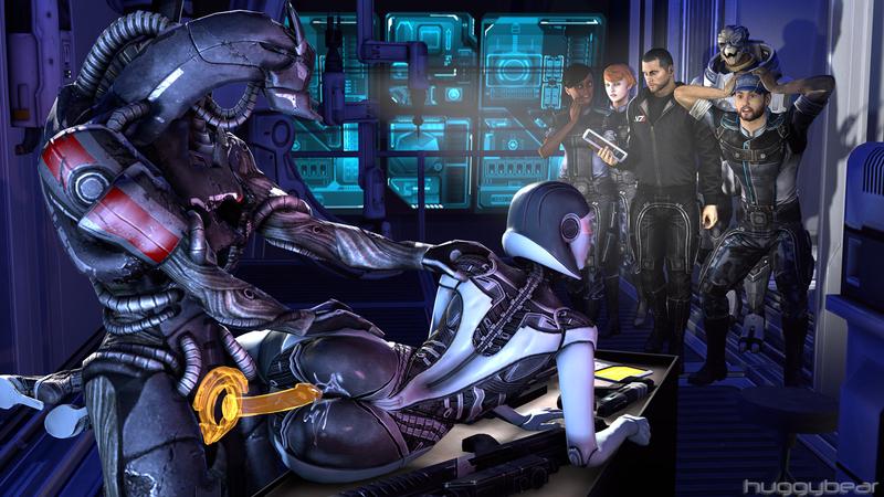 1187383 - Commander_Shepard EDI Garrus_Vakarian Huggybear Jeff_Moreau Kelly_Chambers Mass_Effect Mass_Effect_3 Samantha_Traynor Turian geth legion.jpg