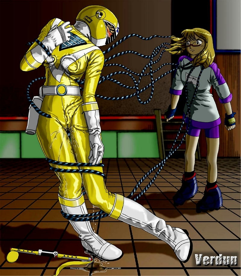 1035401 - Five_yellow Fiveman Mighty_Morphin_Power_Rangers Super_Sentai Verdun yellow_ranger.jpg