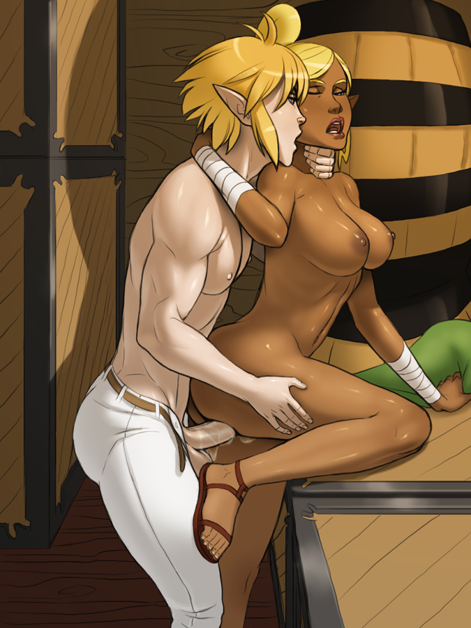 Zelda tetra hentai