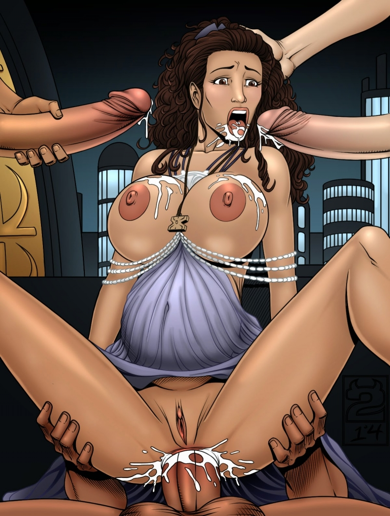 Jaina Solo enjoy gonzo ravaging in all pipe-squashing crevices