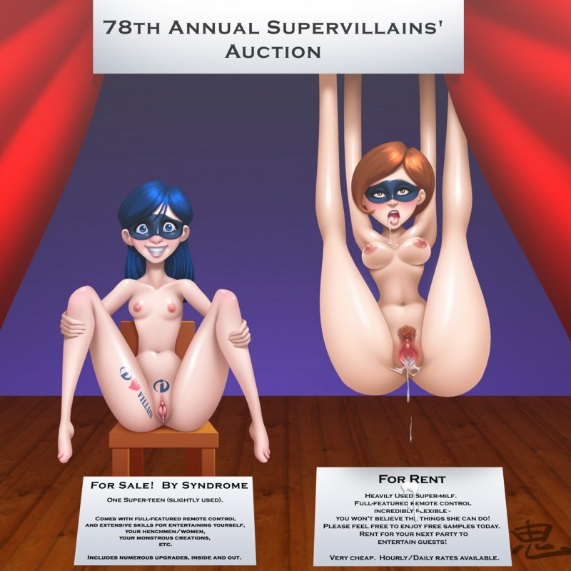 Incredibles Characters Naked