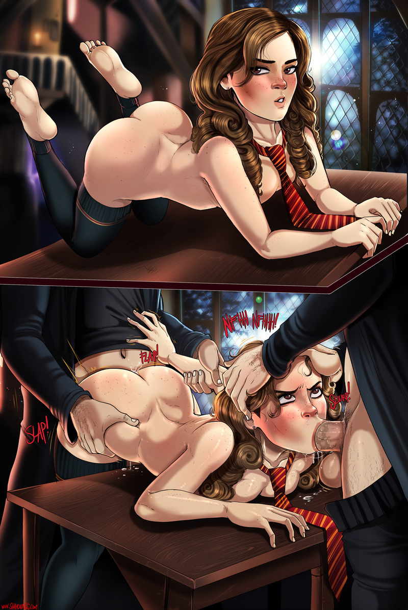 Hermione Jean Granger have double sex trouble
