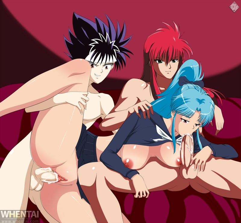 Kurama Botan Hiei share_it_4c5b2a6907828faba71c6be368b1a759