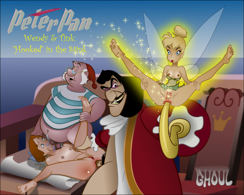 Tinkerbell 1006333 - Captain_Hook Peter_Pan Smee Tinker_Bell Wendy_Darling lordghoul.png
