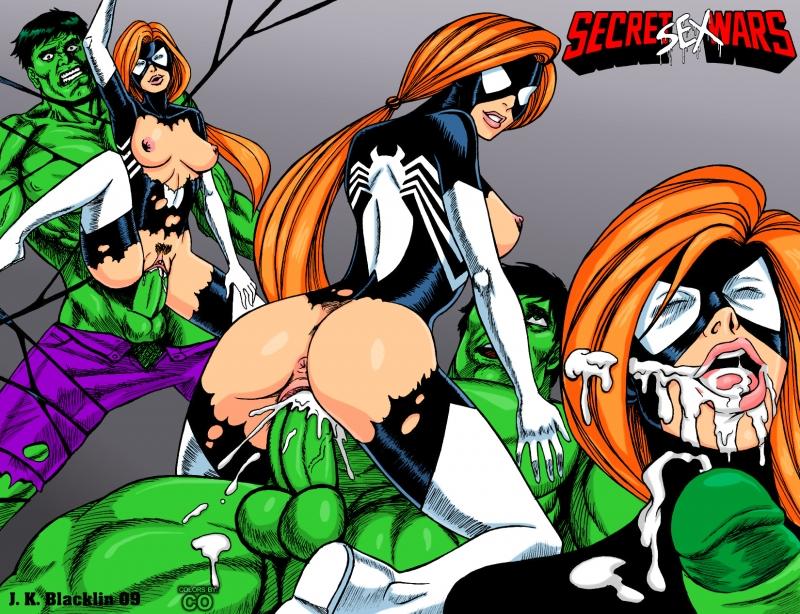 297271 - Arachne Avengers Hulk JK_Blacklin Julia_Carpenter Secret_Wars Spider-Woman.jpg