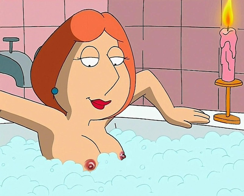 Lois Griffin is going to take a bath