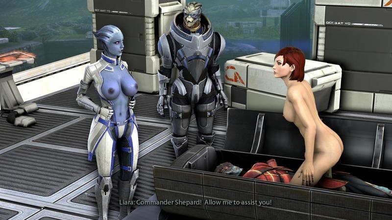 1544643 - Asari Commander_Shepard FemShep Garrus_Vakarian Javik Liara_T'Soni Mass_Effect Mass_Effect_3 Prothean Turian.jpeg