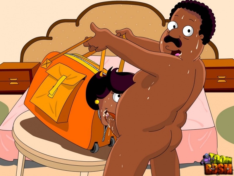 Donna Tubbs suck Cleveland Brown cock