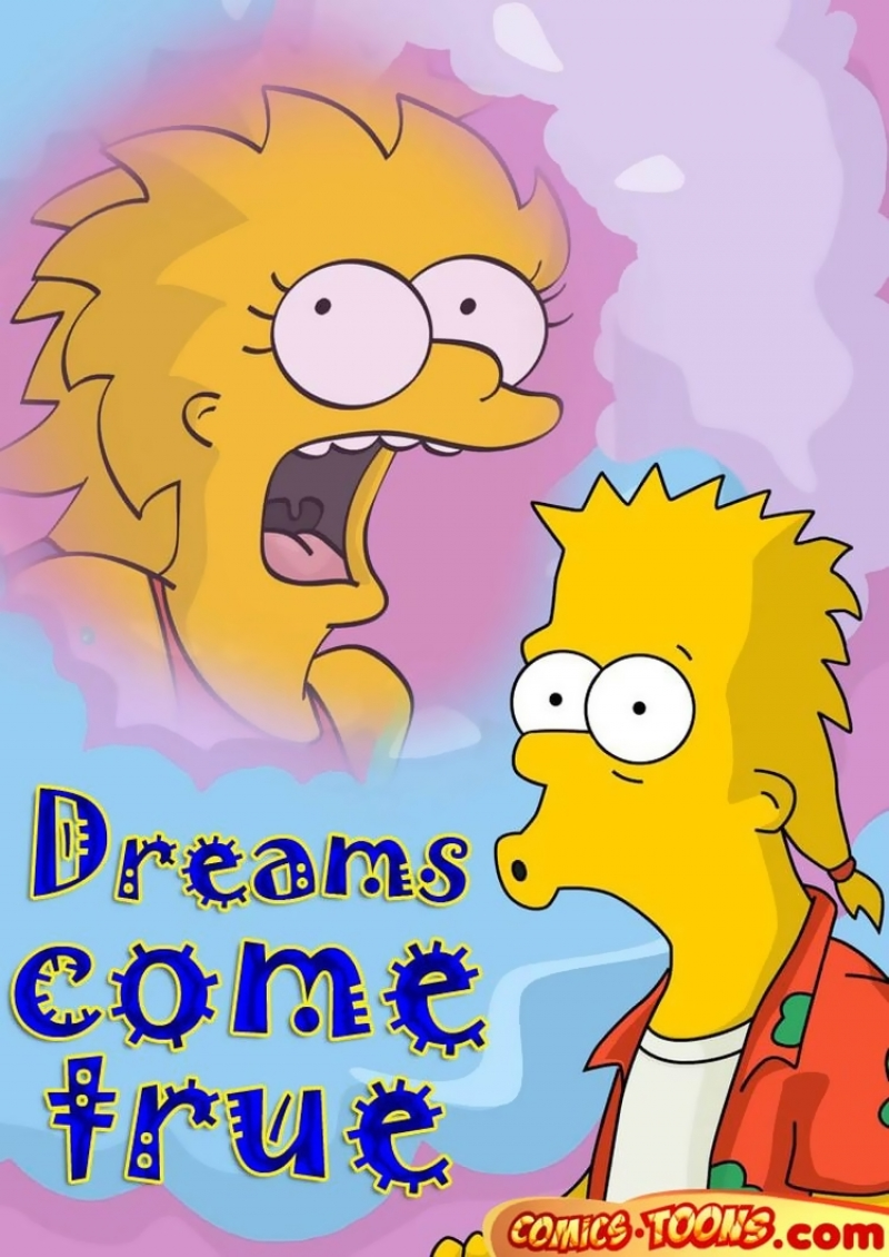 [Comics Toons] Cravings come true (The Simpsons): Now when Lisa has boobies she takes a major part in Bart's sexual Cravings!