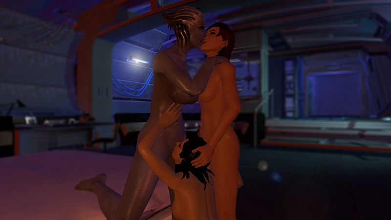 1429237 - Asari Commander_Shepard FemShep Kasumi_Goto Liara_T'Soni Mass_Effect ltr300.jpg