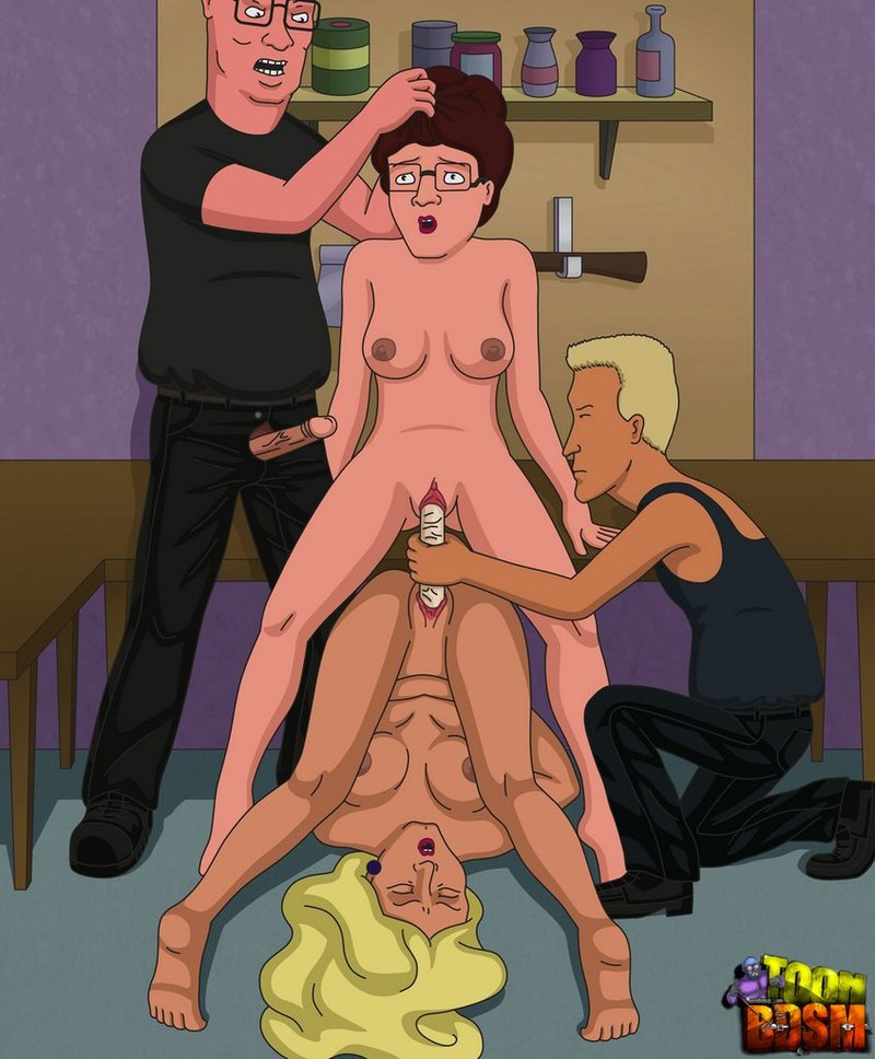 King Of The Hill Bobbie And Connie Nude