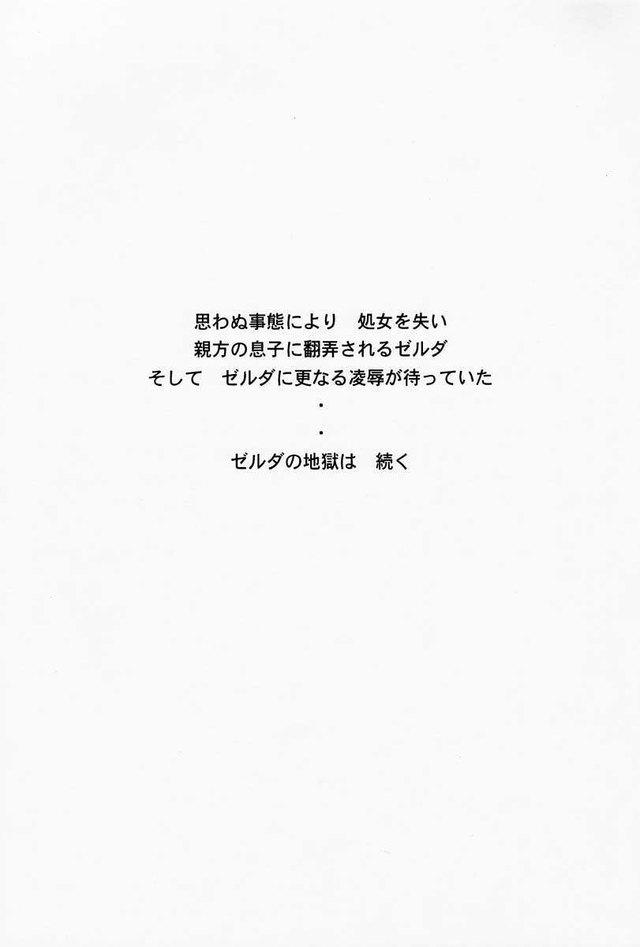 Zelda Hentai Porn Doujinshi