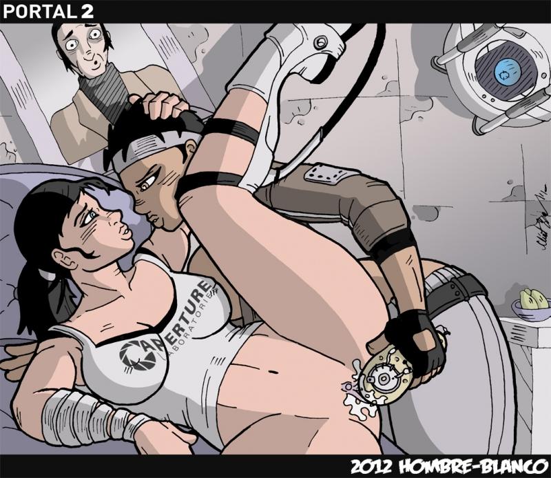 770330 - Alyx_Vance Cave_Johnson Chell GLaDOS Half-Life_2 Hombre-Blanco POTaDOS Portal Wheatley crossover.jpg