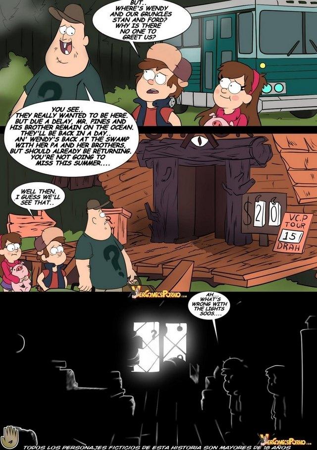 Gravity Falls Hentai Porn Doujinshi