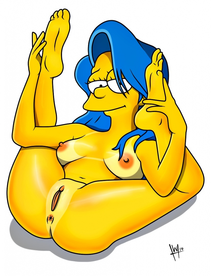 Simpsons marge hentai voice