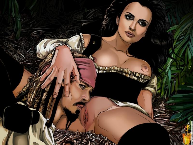 Пираты карибского моря эротическая пародия