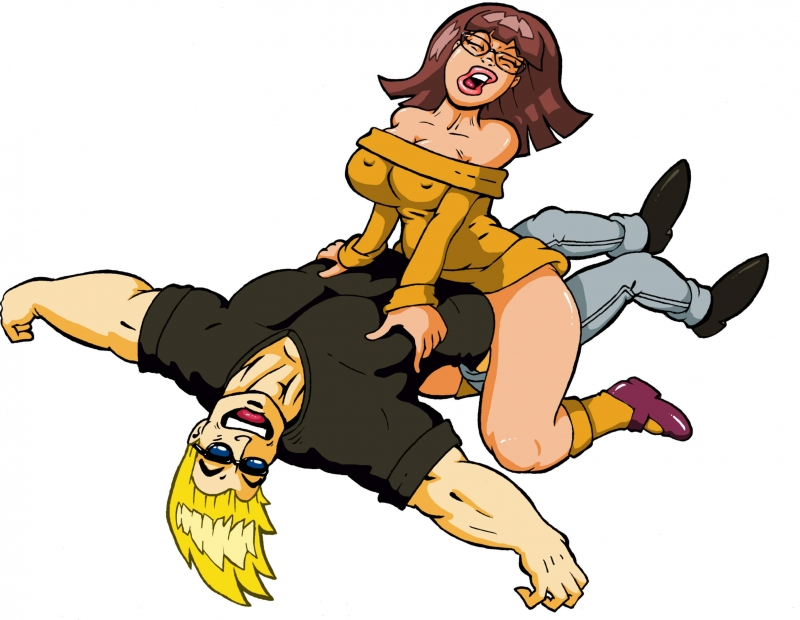 Velma Dinkley 1152931 - Johnny_Bravo Johnny_Bravo_(series) Scooby-Doo Velma_Dinkley crossover.jpg