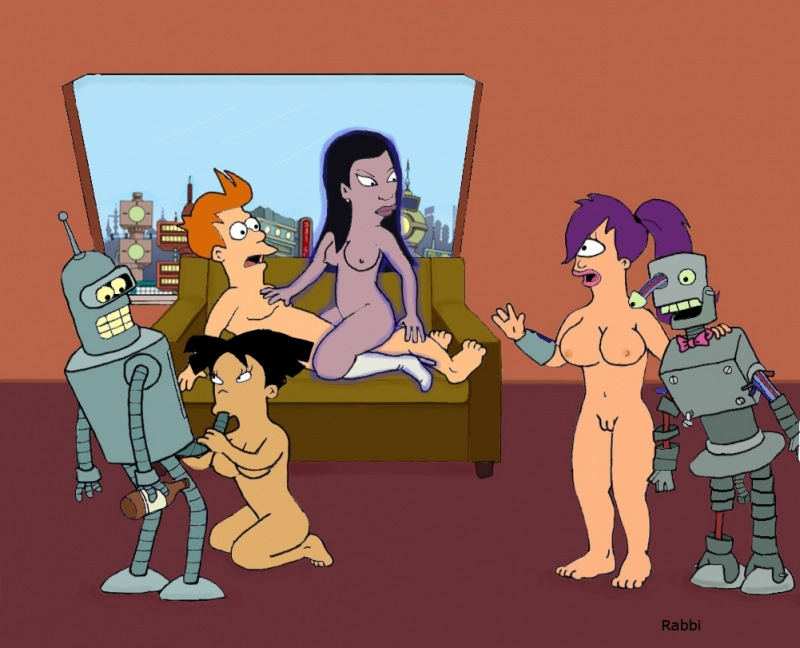 Futurama Nude Beach