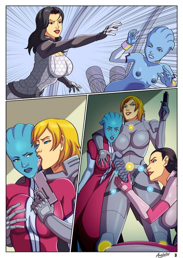Mass Effect Hentai Porn Doujinshi