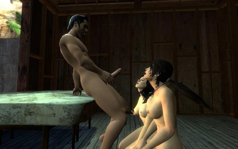 1467199 - Kaidan_Alenko Lara_Croft Mass_Effect Miranda_Lawson Tomb_Raider Tomb_Raider_Reboot crossover rchart.jpg