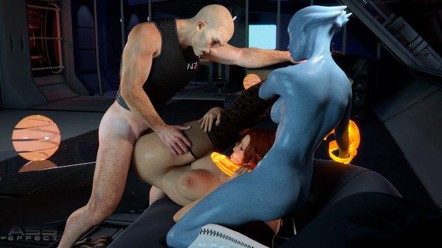 порно игра масс эвект