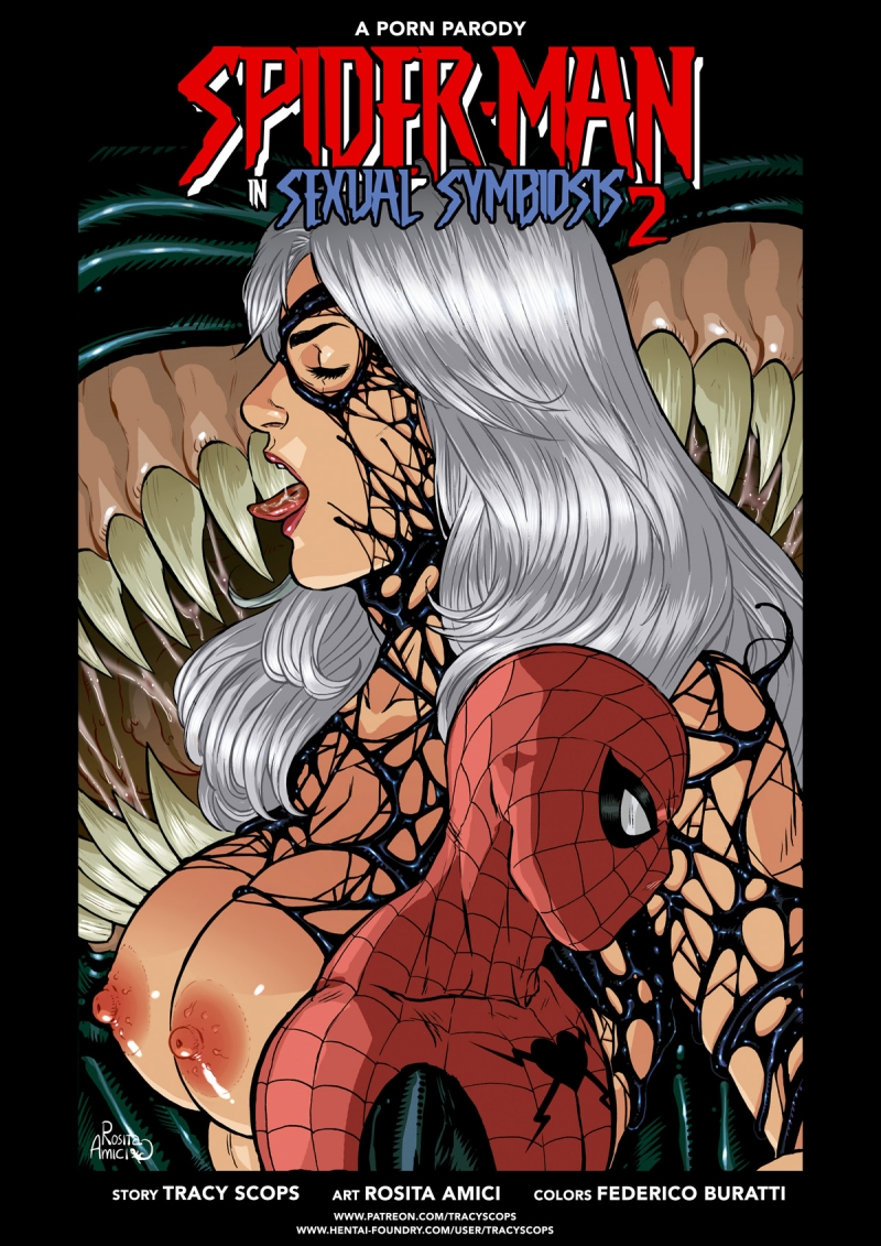Sexual Symbiosis #02: This time symbiote is anxious not to demolish but to poke our friendly neighbor!