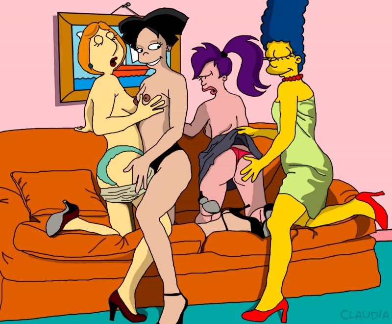 1040390 - Amy_Wong Claudia-R Family_Guy Futurama Lois_Griffin Marge_Simpson The_Simpsons Turanga_Leela crossover.jpg