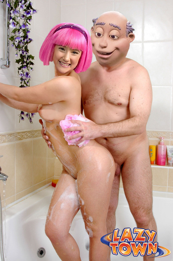 Lazy Town Stephanie Porn Photos