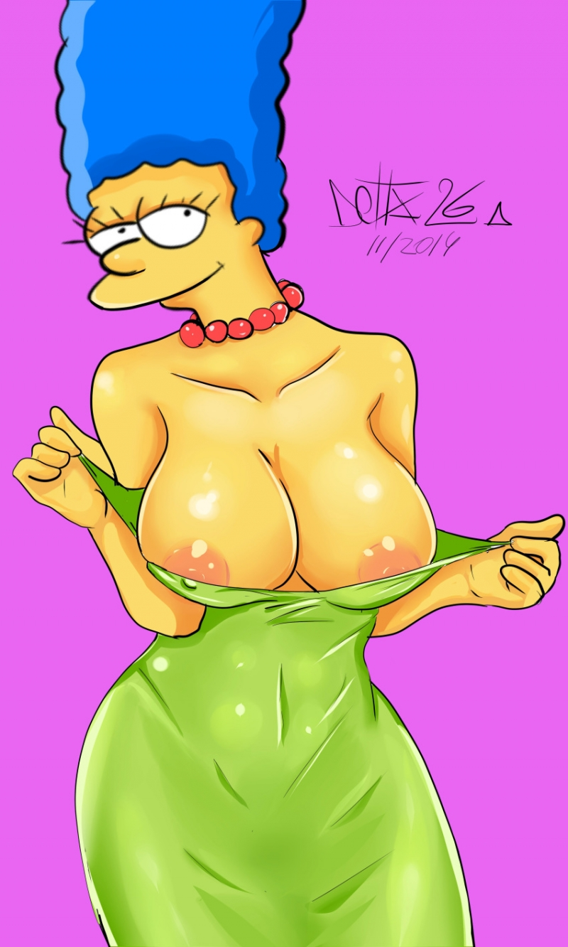 Simpsons Nude Cartoon